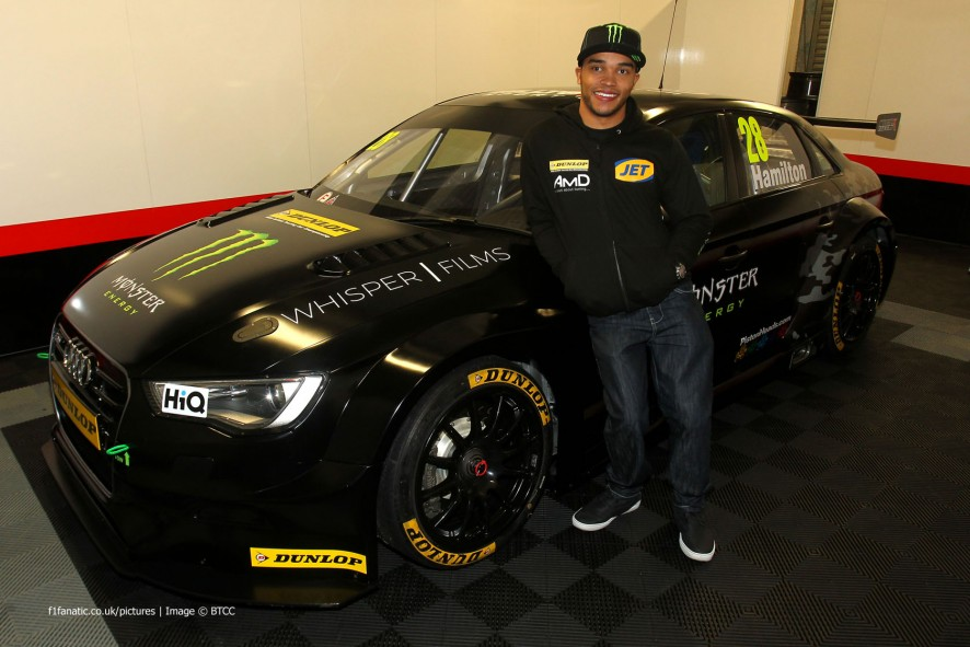 Nicolas Hamilton BTCC 2015