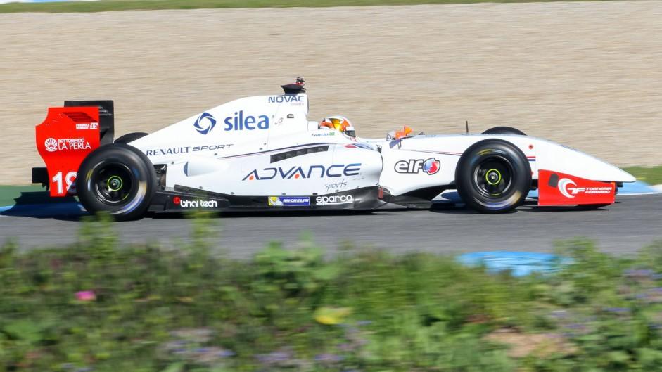 Pietro Fantin Formula Renault 3.5 Draco Jerez 2015