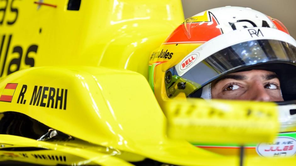 Roberto Merhi, Pons, Formula Renault 3.5 testing, Jerez, 2015