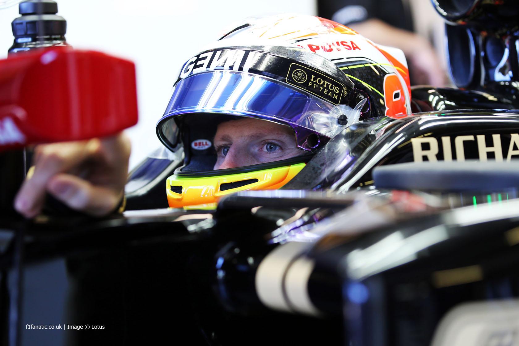 Romain Grosjean, Lotus, Albert Park, 2015