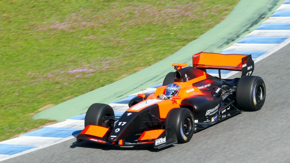 Roy Nissany Formula Renault 3.5 Tech 1 Jerez 2015