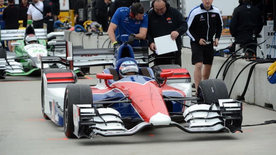 Takuma Sato, Foyt, IndyCar, NOLA Motorsport Park, 2015