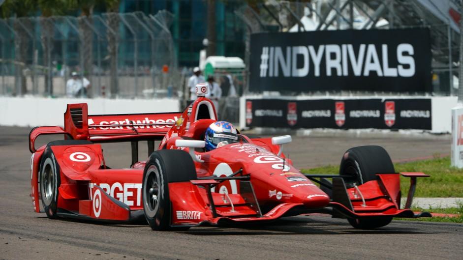 Scott Dixon, Ganassi, IndyCar, St Petersburg, 2015