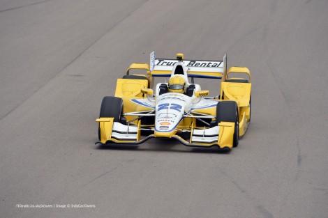 Simon Pagenaud Penske IndyCar NOLA test 2015