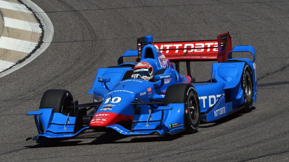 Tony Kanaan Ganassi IndyCar NOLA 2015