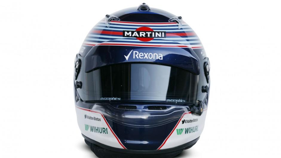 Valtteri Bottas helmet 2015