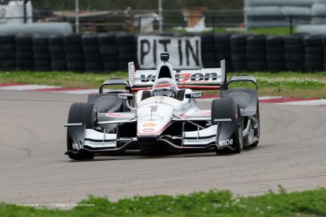 Will Power Penske IndyCar NOLA test 2015