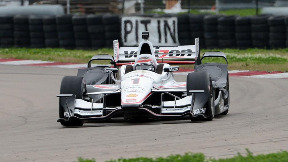 Will Power Penske IndyCar NOLA test 2015
