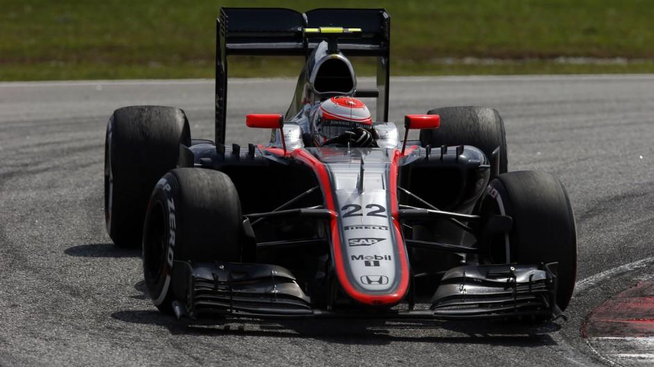 Jenson Button, McLaren, Sepang International Circuit, 2015