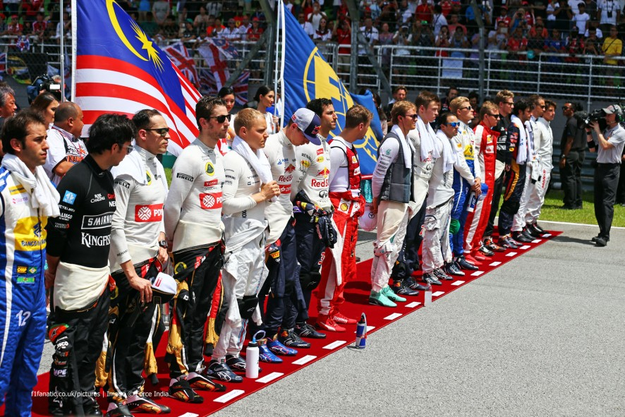 Drivers, Sepang International Circuit, 2015
