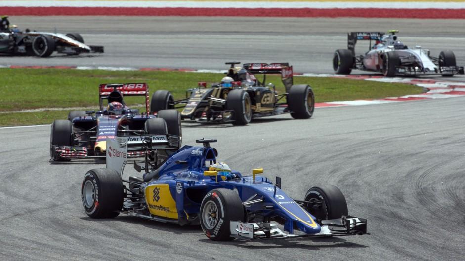 Marcus Ericsson, Sauber, Sepang International Circuit, 2015