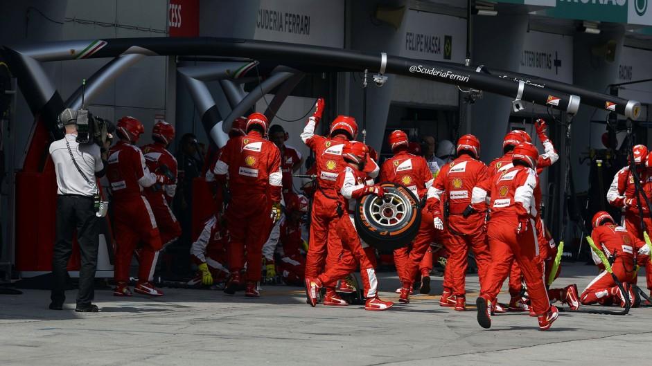 Ferrari, Sepang International Circuit, 2015