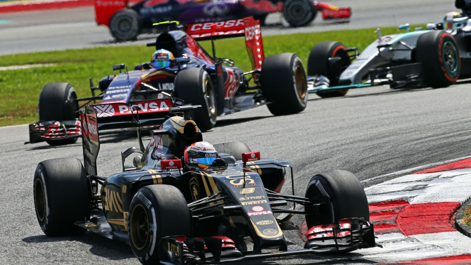 Power unit problem delayed Grosjean in Malaysia