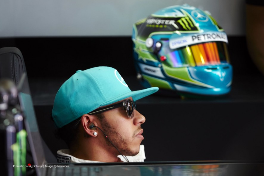 Lewis Hamilton, Mercedes, Sepang International Circuit, 2015
