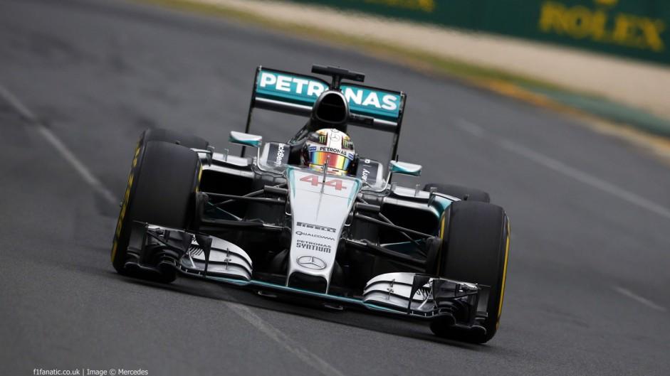 2015 Australian Grand Prix championship points