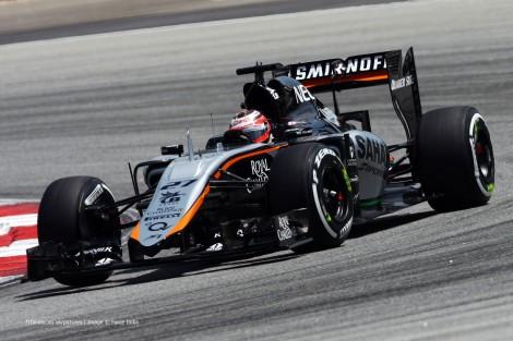 Nico Hulkenberg, Force India, Sepang International Circuit, 2015