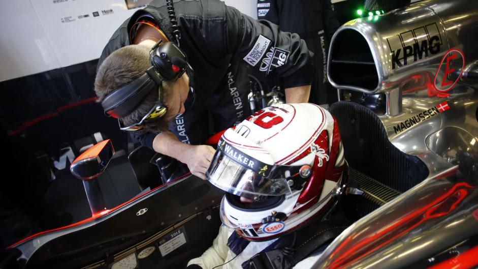 Kevin Magnussen, McLaren, Albert Park, 2015