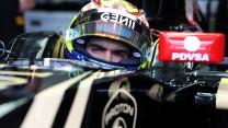 Pastor Maldonado, Lotus, Sepang International Circuit, 2015