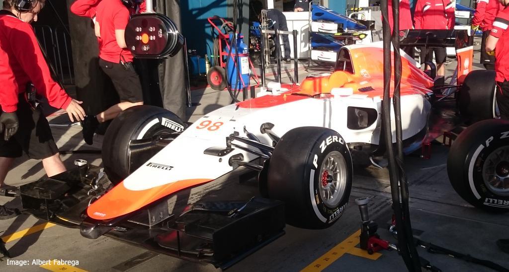 Manor F1 car