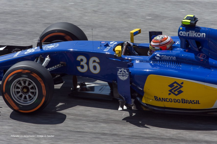 Raffaele Marciello, Sauber, Sepang International Circuit, 2015