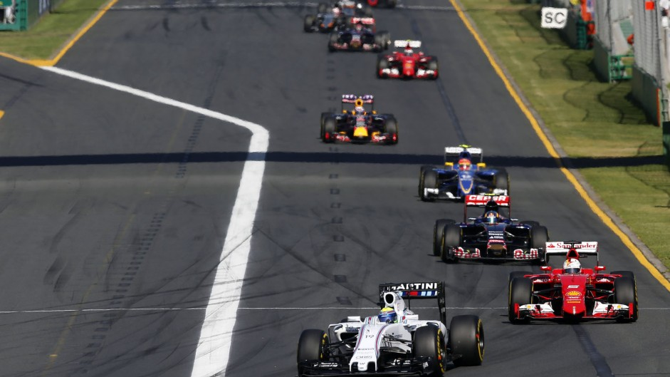 Felipe Massa, Williams, Albert Park, 2015