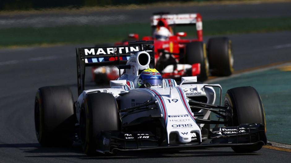 Vettel's one-stop 'overcut' yields debut Ferrari podium
