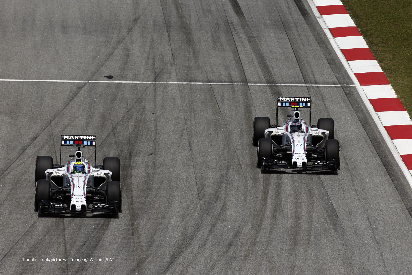 Felipe Massa, Valtteri Bottas, Williams, Sepang International Circuit, 2015