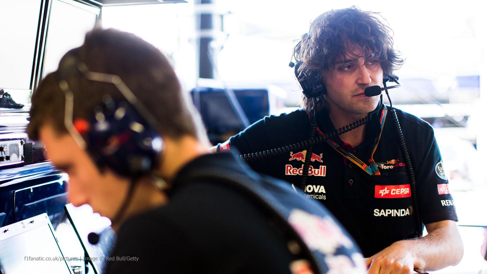 Marco Matassa, Toro Rosso, Melbourne, 2015