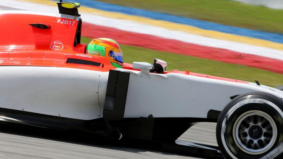 "Merhi thrilled with ""huge reward"" for Manor"
