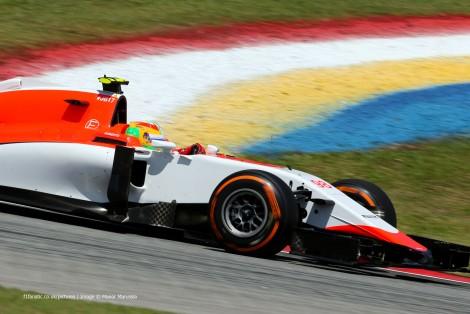 Roberto Merhi, Manor, Sepang International Circuit, 2015