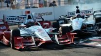 Juan Pablo Montoya, Will Power, IndyCar, Penske, St Petersburg, 2015