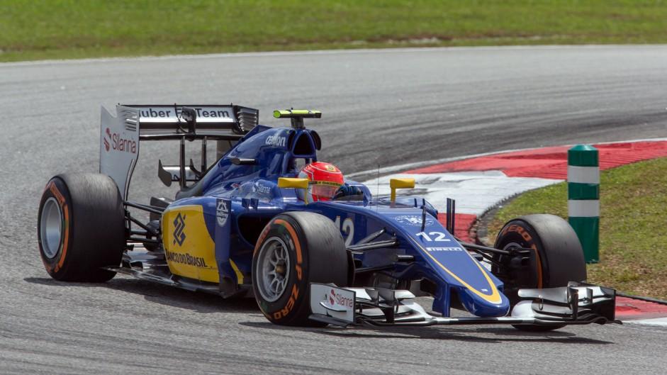 Felipe Nasr, Sauber, Sepang International Circuit, 2015