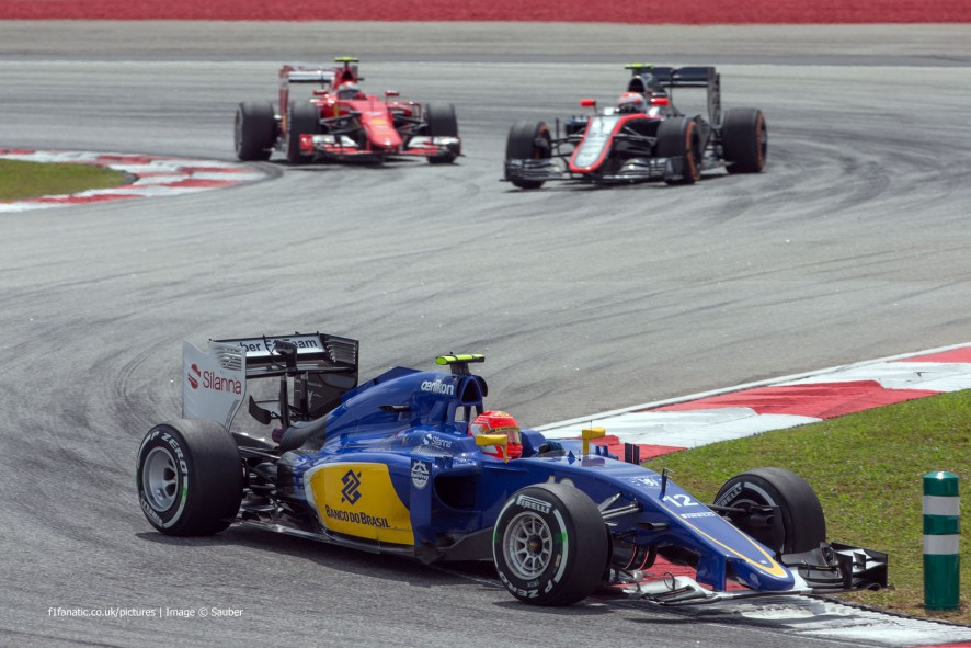 Felipe Nasr, Sauber, Sepang International Circuit, 2015