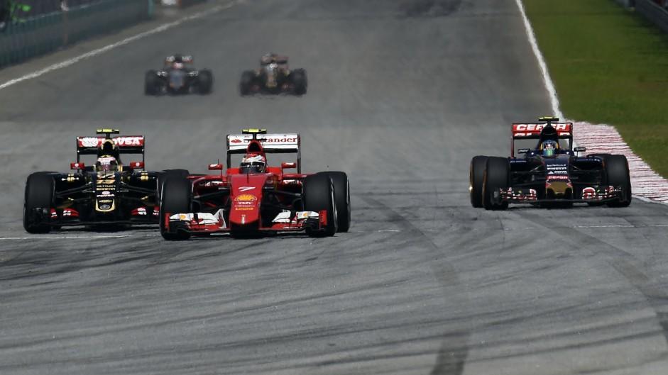 Kimi Raikkonen, Ferrari, Sepang International Circuit, 2015
