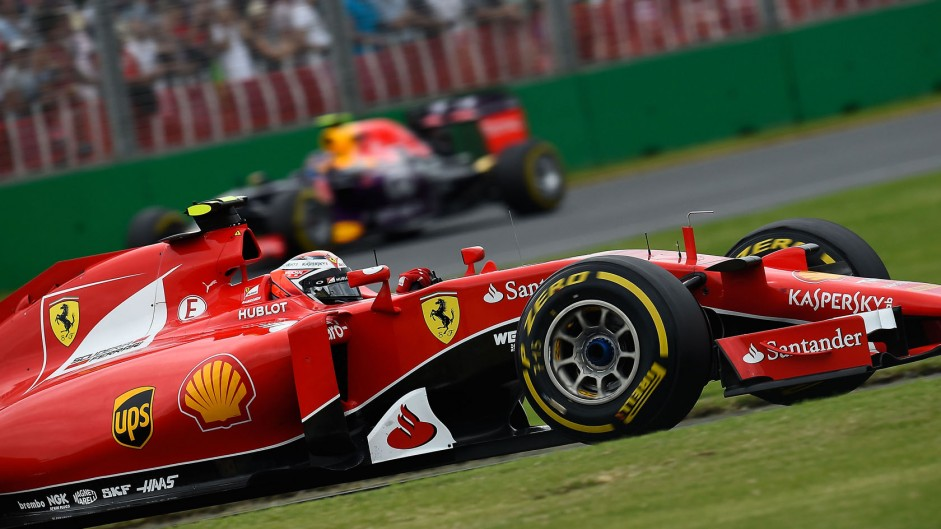 Car went into anti-stall at start – Raikkonen