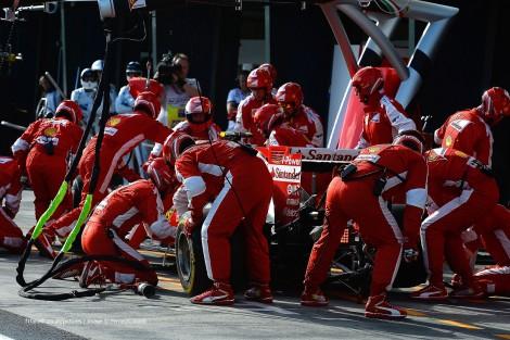 Kimi Raikkonen, Ferrari, Albert Park, 2015