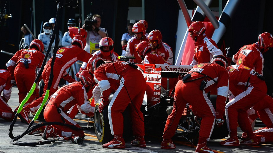Raikkonen and Ferrari avoid pit lane release penalty