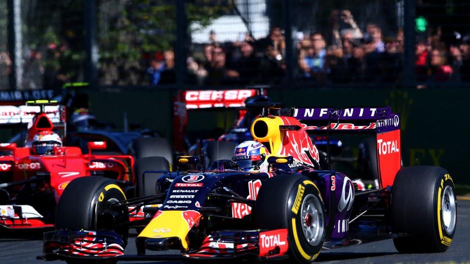 Daniel Ricciardo, Red Bull, Albert Park, 2015