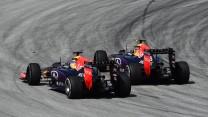 Daniil Kvyat, Daniel Ricciardo, Red Bull, Sepang International Circuit, 2015
