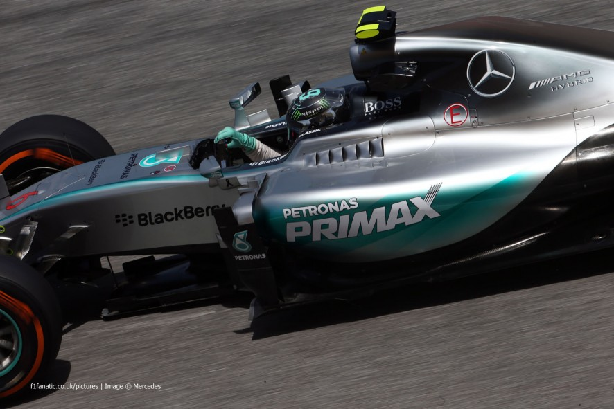Nico Rosberg, Mercedes, Sepang International Circuit, 2015