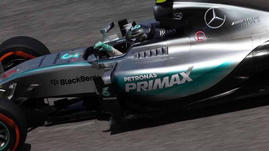 Rosberg ahead again as Hamilton struggles