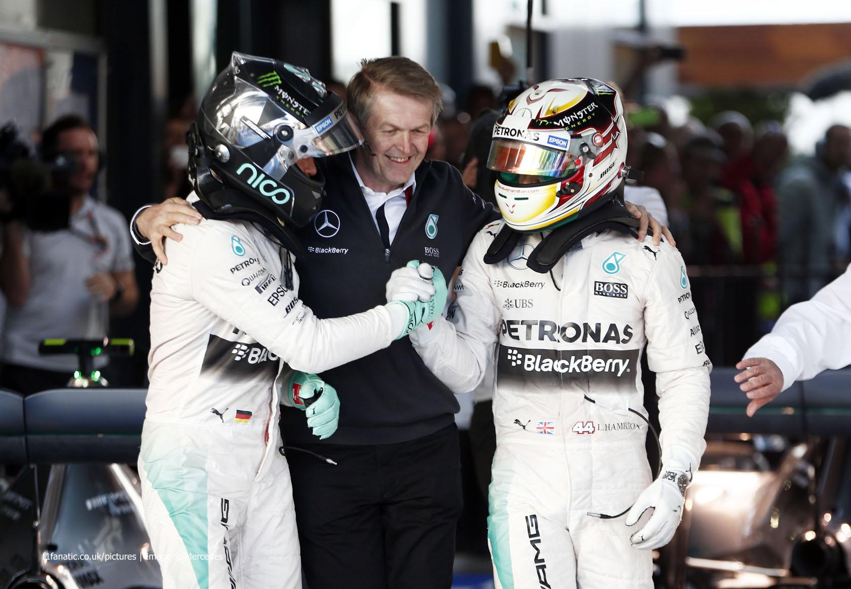 Nico Rosberg, Lewis Hamilton, Mercedes, Albert Park, 2015