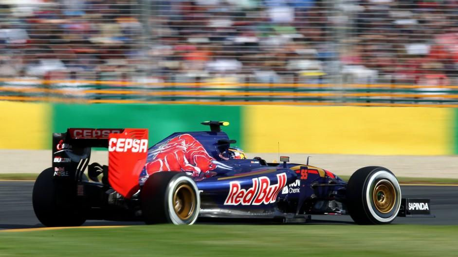Carlos Sainz Jnr, Toro Rosso, Albert Park, 2015