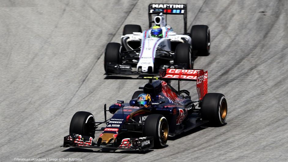Carlos Sainz Jnr, Toro Rosso, Sepang International Circuit, 2015