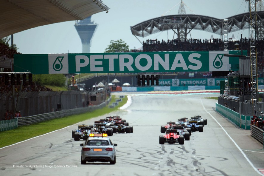 Start, Sepang International Circuit, 2015