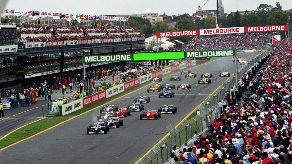 McLaren end win drought after first lap crash