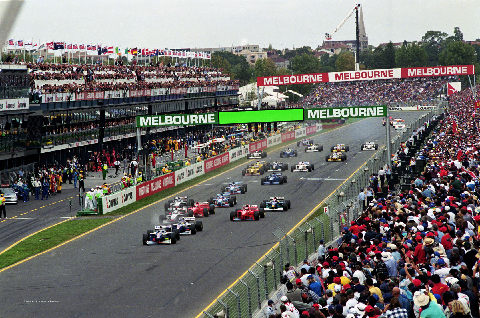 1997 Australian Grand Prix start