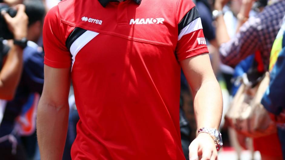 Will Stevens, Manor, Sepang International Circuit, 2015