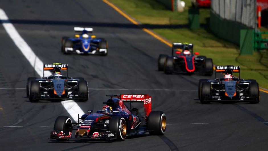 Max Verstappen, Toro Rosso, Albert Park, 2015