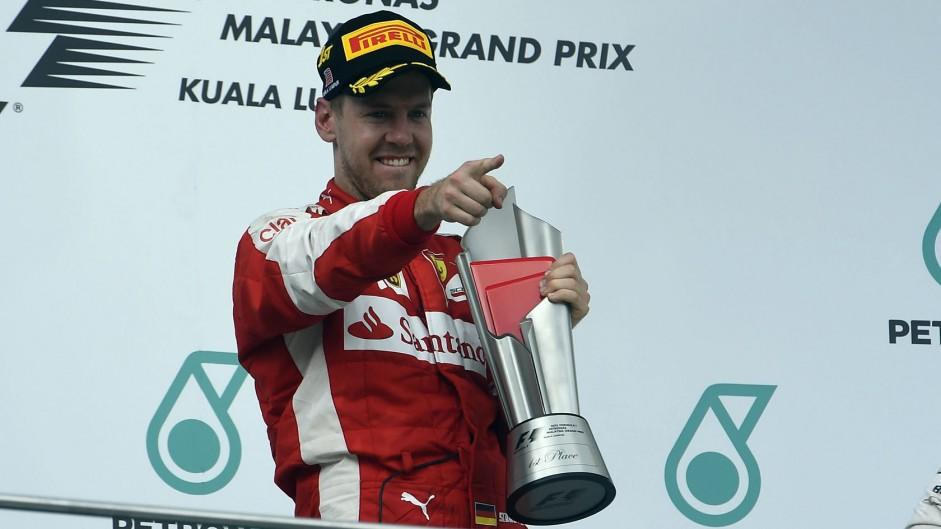 Heatproof Vettel makes Mercedes sweat with surprise Malaysian Grand Prix win